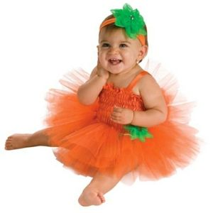 Other - Pumpkin baby Halloween costume